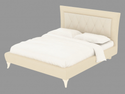 Double bed in leather trim LTTOD2-187