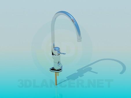 3d model Kitchen faucet - preview