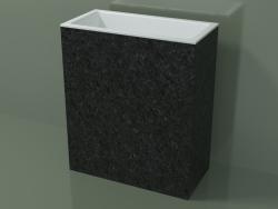 Lavatório autônomo (03R146101, Nero Assoluto M03, L 72, P 36, H 85 cm)