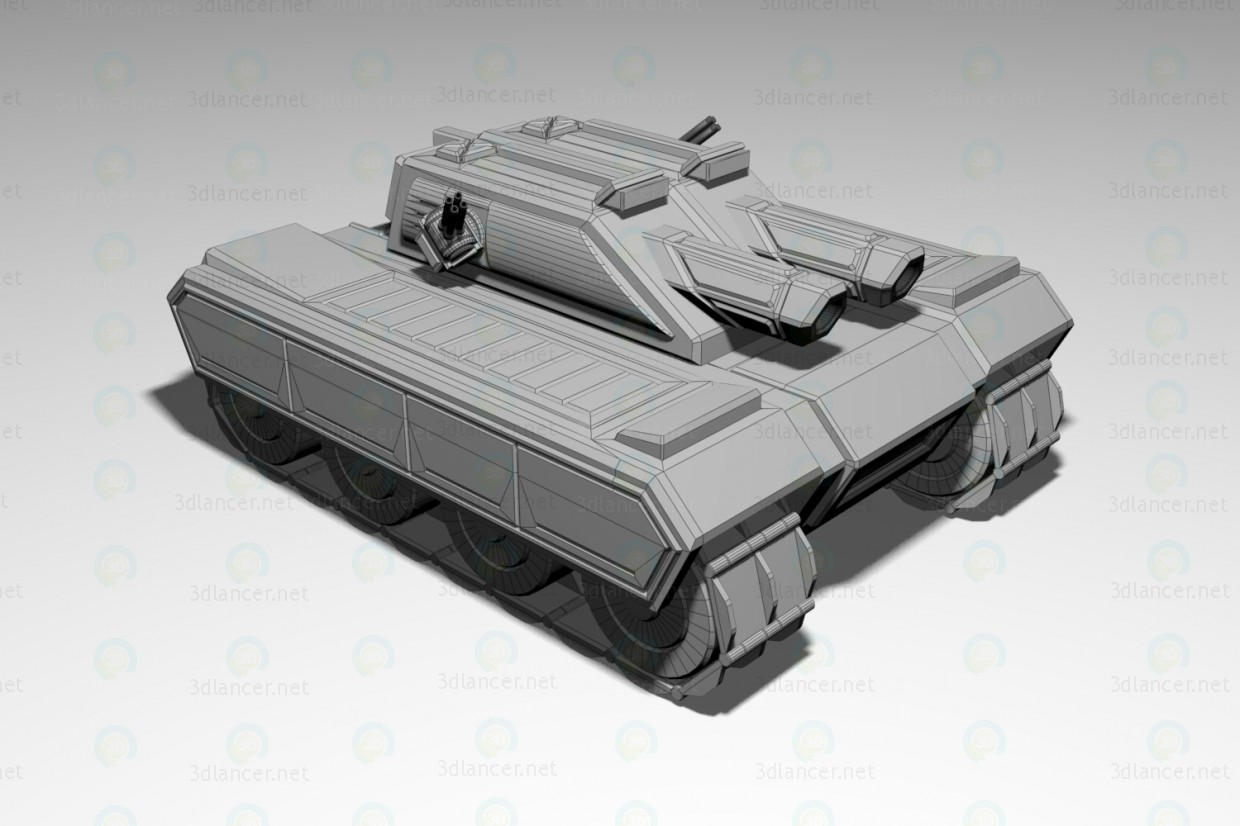 "3d Tank ""the spoiler"" model buy - render"