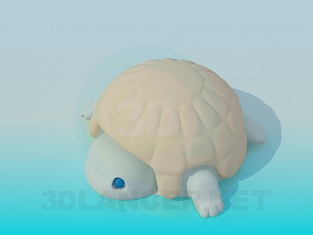 3d model Turtle toy - preview