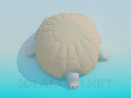modelo 3D toy tortuga - escuchar