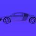 modello 3D AUDI V8 - anteprima
