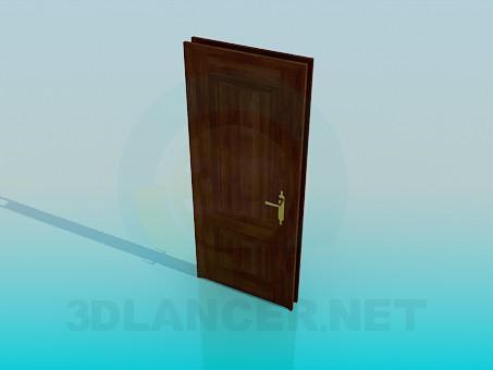 modelo 3D Puerta interior - escuchar