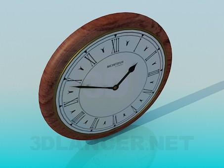 3d модель Годинники настінні – превью