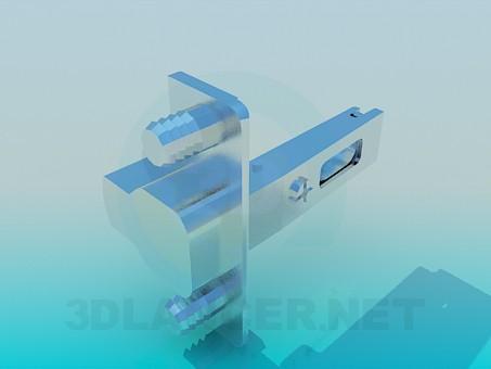 3d модель Петля мебельная – превью