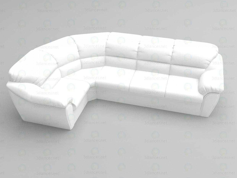 3d модель Угловой диван Венера – превью