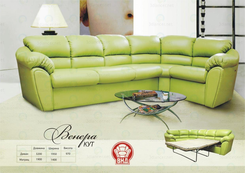 3d model Corner sofa Venus - preview