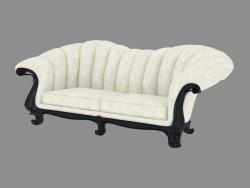 Louvre sofá de cuero