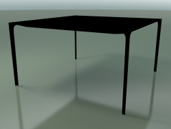 Square table 0807 (H 74 - 137x137 cm, laminate Fenix F02, V39)