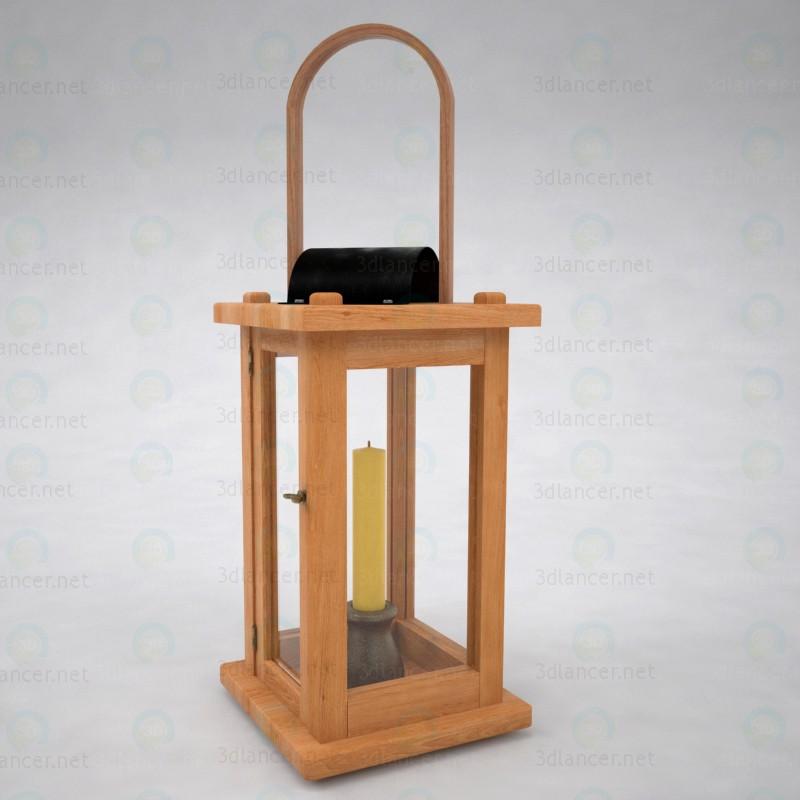 3d Старовинний ліхтар модель купити - зображення
