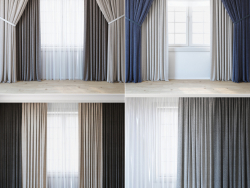 Economical curtains | a set of curtains for an interior designer