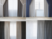 Economical curtains   a set of curtains for an interior designer