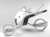 Futuristic Strollever Stroller