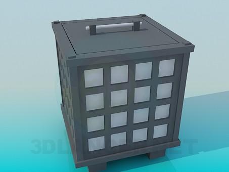 3d моделирование Интересная тумба модель скачать бесплатно