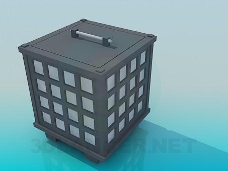 modelo 3D Gabinete de interesante - escuchar