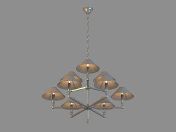 Chandelier A2398LM-6-3BA