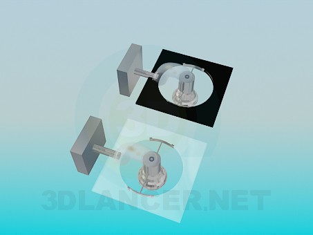 3d модель Галогеновые бра – превью