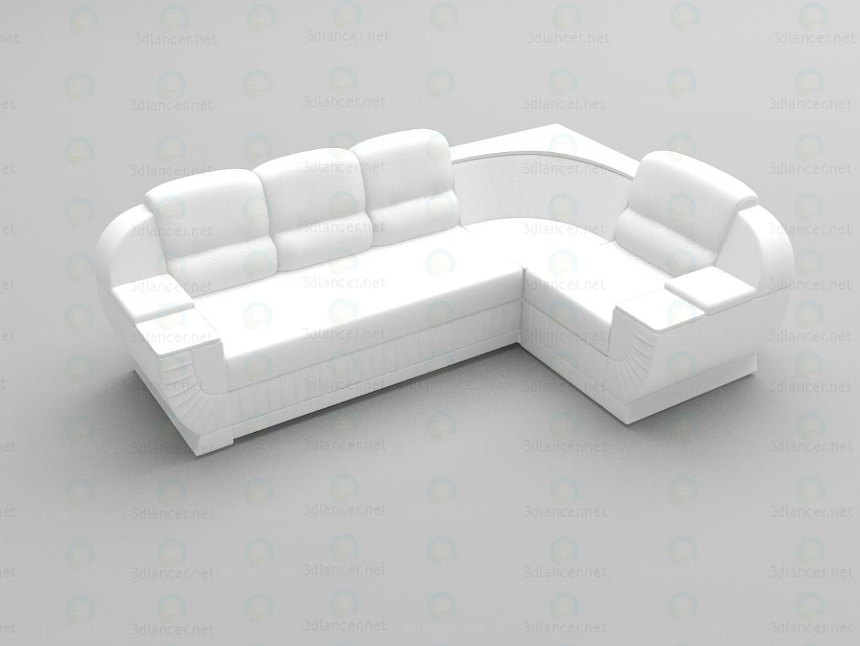 3d моделювання Кутовий диван Даймонд 2 модель завантажити безкоштовно