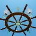3d modeling Chandelier Steering Wheel model free download