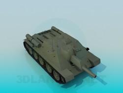 Réservoir SU-122