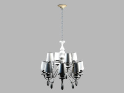 Paradiso chandelier MDP100601-12A, 12 set, white