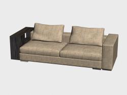 Sofa Infiniti LUX (avec étagères 248h102)