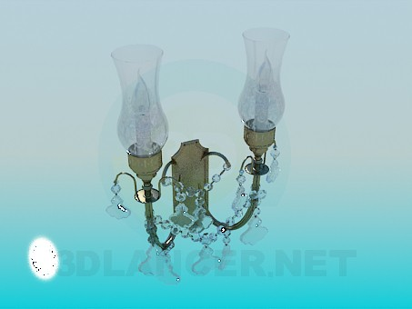 3d model Lámpara de pared - vista previa