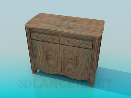 3d model Cupboard - preview