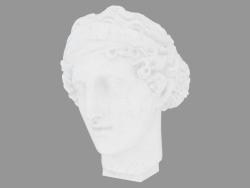 Scultura di marmo Testa di Afrodite