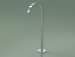 Bath spout without diverter for free-standing installation (13 672 780-00)