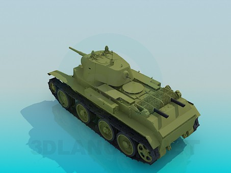descarga gratuita de 3D modelado modelo BT-7