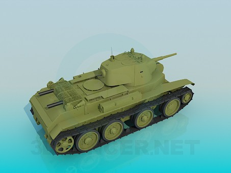 3d модель BT-7 – превью