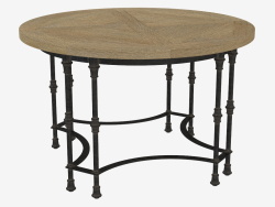 Dining table LUZERN ROUND TABLE (8831.1005)