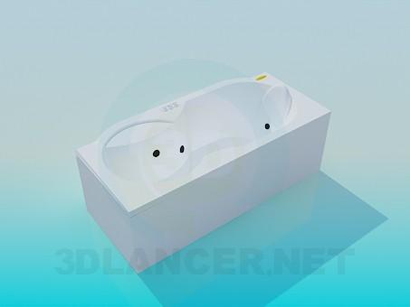 3d model Bath-Jacuzzi - preview