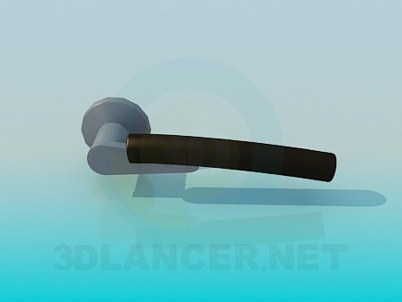 modelo 3D Pomo de la puerta - escuchar