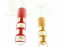 красный-желтый светильники
