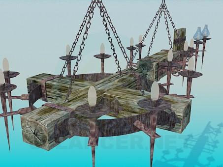modelo 3D Antigua araña de taberna - escuchar