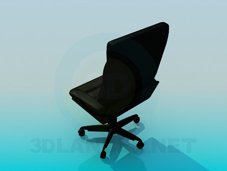 3d model Office chair for leadership - preview