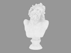 Busto in marmo Testa di Laocoonte