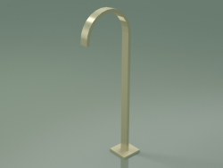 Bath spout without diverter for free-standing installation (13 672 780-28)