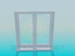 Fenêtre de la boîte en métal