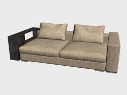 Sofa Infiniti LUX (with shelves, 248x124)