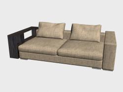 Sofa Infiniti LUX (avec étagères 248h124)