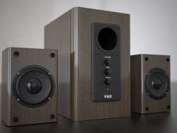 Haut-parleurs 2.1 F & D R-313