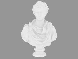 Scultura in marmo Ottaviano Augusto