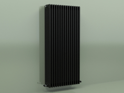 Радиатор TESI 6 (H 1500 15EL, Black - RAL 9005)