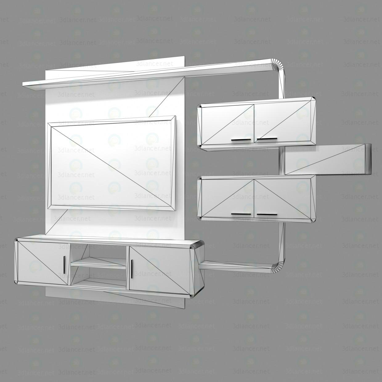 modelo 3D Muebles de sala - escuchar
