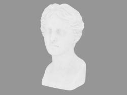 Scultura in marmo Testa di Venere di Milo