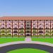 3d model Hostel - preview